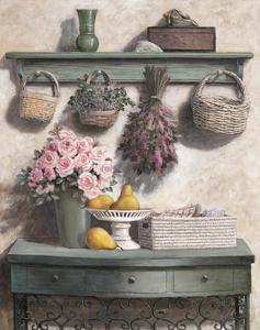 Basket and Roses by T^ C^ Chiu