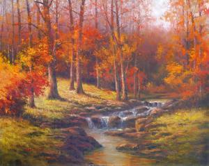 Bubbling Brook by T^ C^ Chiu