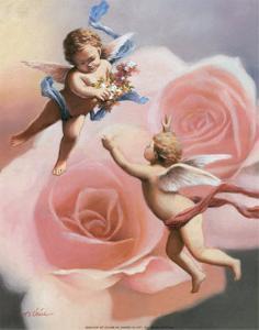 Cherubs' Rose by T^ C^ Chiu