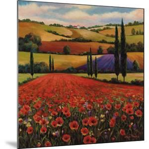 Fields of Poppies II by T^ C^ Chiu
