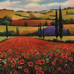 Fields of Poppies II by T. C. Chiu