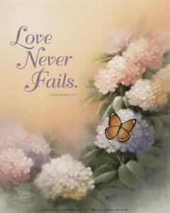 Love Never Fails by T^ C^ Chiu