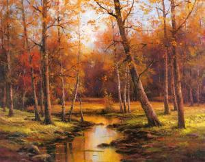 Meadow Stream by T^ C^ Chiu