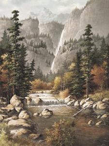 Mountain Stream by T^ C^ Chiu