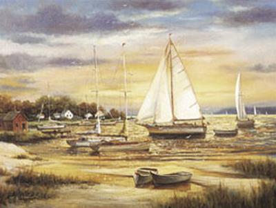Sailboats at the Shore