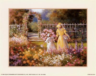 Trellis with Garden