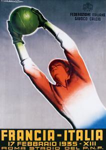 Francia-Italia Football, 1935 by T^ Corbella