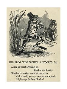A Frog He Would A-Wooing Go by T. Dalziel