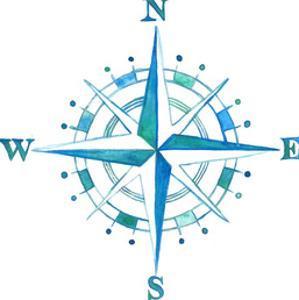 Compass Rose Smaller by T.J. Heiser