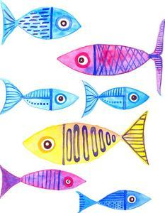 Fish Cluster 4 by T.J. Heiser