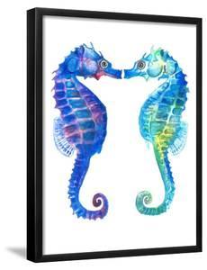 Kissing Seahorse by T.J. Heiser