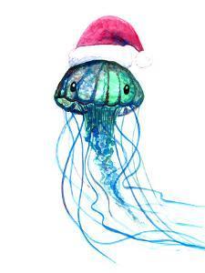 Santa Jellyfish by T.J. Heiser