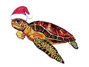 Santa Turtle by T.J. Heiser