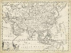 Map of Asia by T^ Jeffreys
