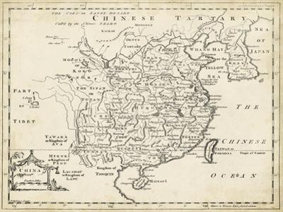 Map of China by T^ Jeffreys