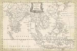 Map of East Indies by T^ Jeffreys