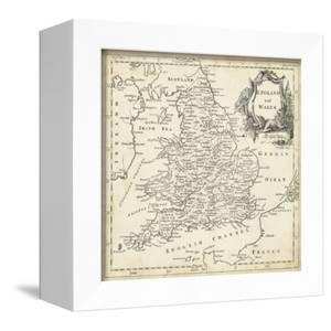 Map of England & Wales by T^ Jeffreys