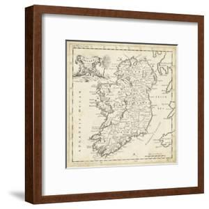 Map of Ireland by T^ Jeffreys