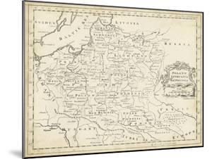 Map of Poland by T^ Jeffreys