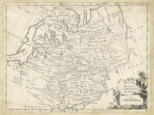 Map of Russia by T^ Jeffreys