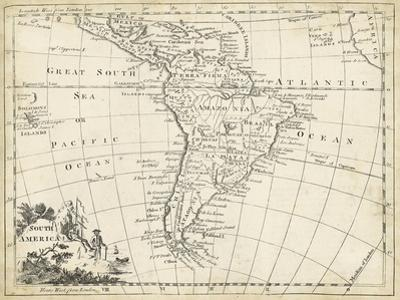 Map of South America by T^ Jeffreys