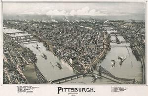 Pittsburgh, Pennsylvania, 1902 by T.M. Fowler