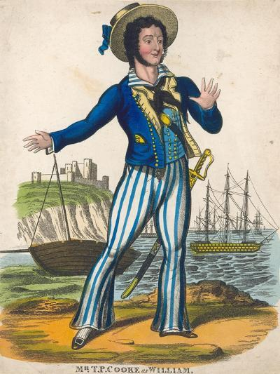 T P Cooke as the Sailor Hero of Black Eyed Susan--Giclee Print