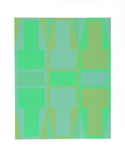 T Series (Green)-Arthur Boden-Collectable Print