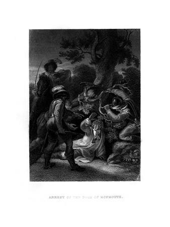 Arrest of the Duke of Monmouth, 1685