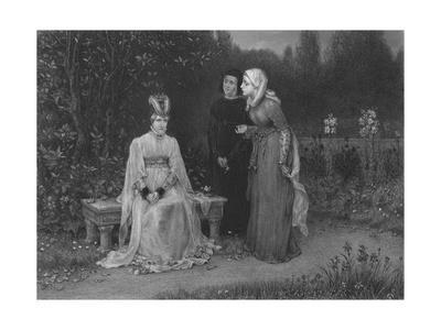 'Queen Isabella and Her Ladies (King Richard II)', c1870