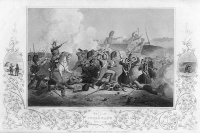 The Battle of Inkerman During the Crimean War, 1854