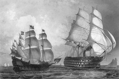 The Great Harry, Man of War, the Largest Ship in the World During the Reign of Henry VIII, C1857