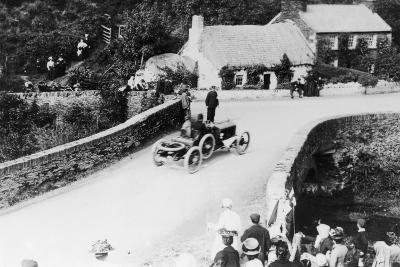 T Thornycroft in a Tt Race, 1908--Photographic Print