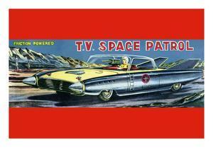 T.V. Space Patrol Car