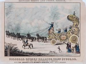 Colossal Golden Chariot, Cost $7,000 by T. W. Strong