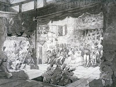 A Country Theatre, 1790