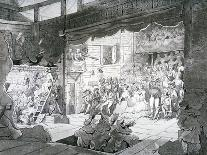 A Country Theatre, 1790-T Wright-Giclee Print