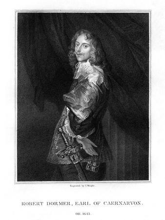 Robert Dormer, 1st Earl of Carnarvon, Royalist Soldier