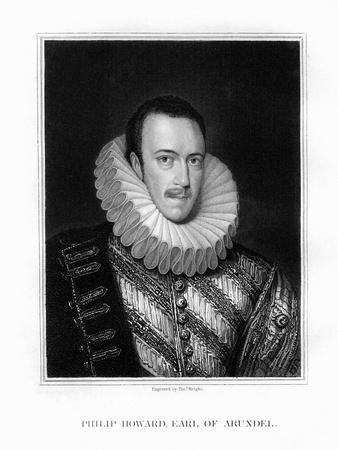 Saint Philip Howard, 20th Earl of Arundel, English Nobleman