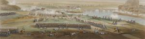Campaign in France Battle of Montereau Napoleon Repulses an Attack by T. Yung