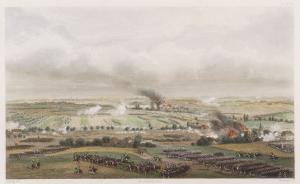 The Hundred Days Battle of Ligny Napoleon Defeats Blucher by T. Yung
