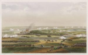 The Hundred Days Battle of Waterloo the Action at 11 Am by T. Yung
