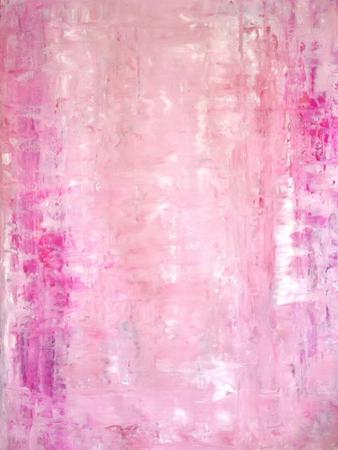 Pink Abstract Art Painting by T30Gallery