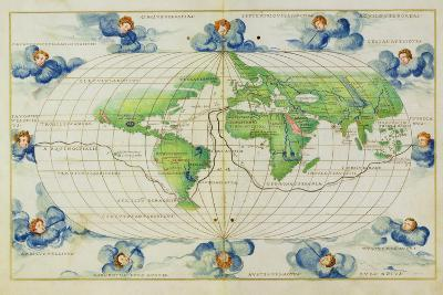 T684 World Map, from the Portolan Atlas of the World--Giclee Print