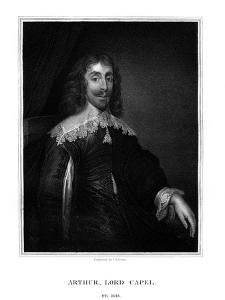 Arthur Capel, 1st Baron Capel, English Royalist by TA Dean