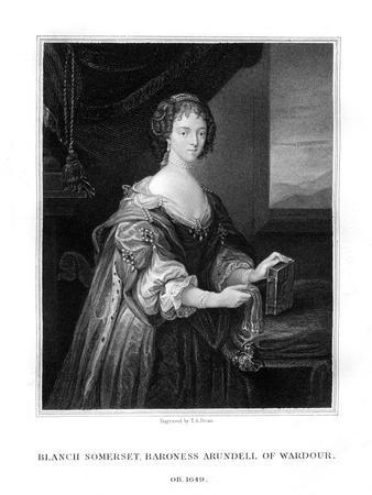 Blanche Somerset, Lady Arundell of Wardour