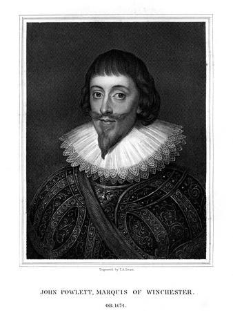 John Paulet, 5th Marquess of Winchester, Royalist