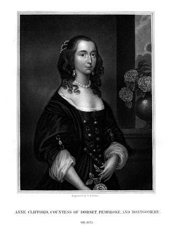 Lady Anne Clifford, Countess of Dorset, Pembroke and Montgomery