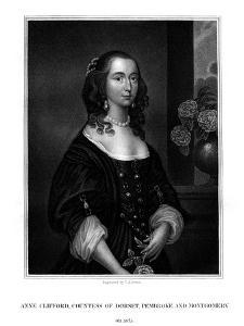 Lady Anne Clifford, Countess of Dorset, Pembroke and Montgomery by TA Dean