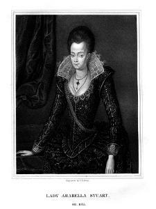 Lady Arabella Stuart, Duchess of Somerset by TA Dean